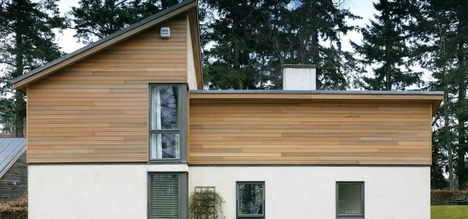 Russwood, Western Red Cedar Timber Cladding   Woodpeckers, Blairgowrie