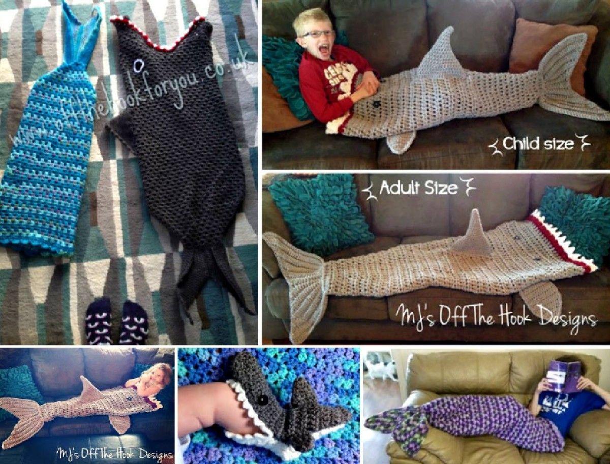 Shark Crochet Pattern All The Best Ideas | Tejido