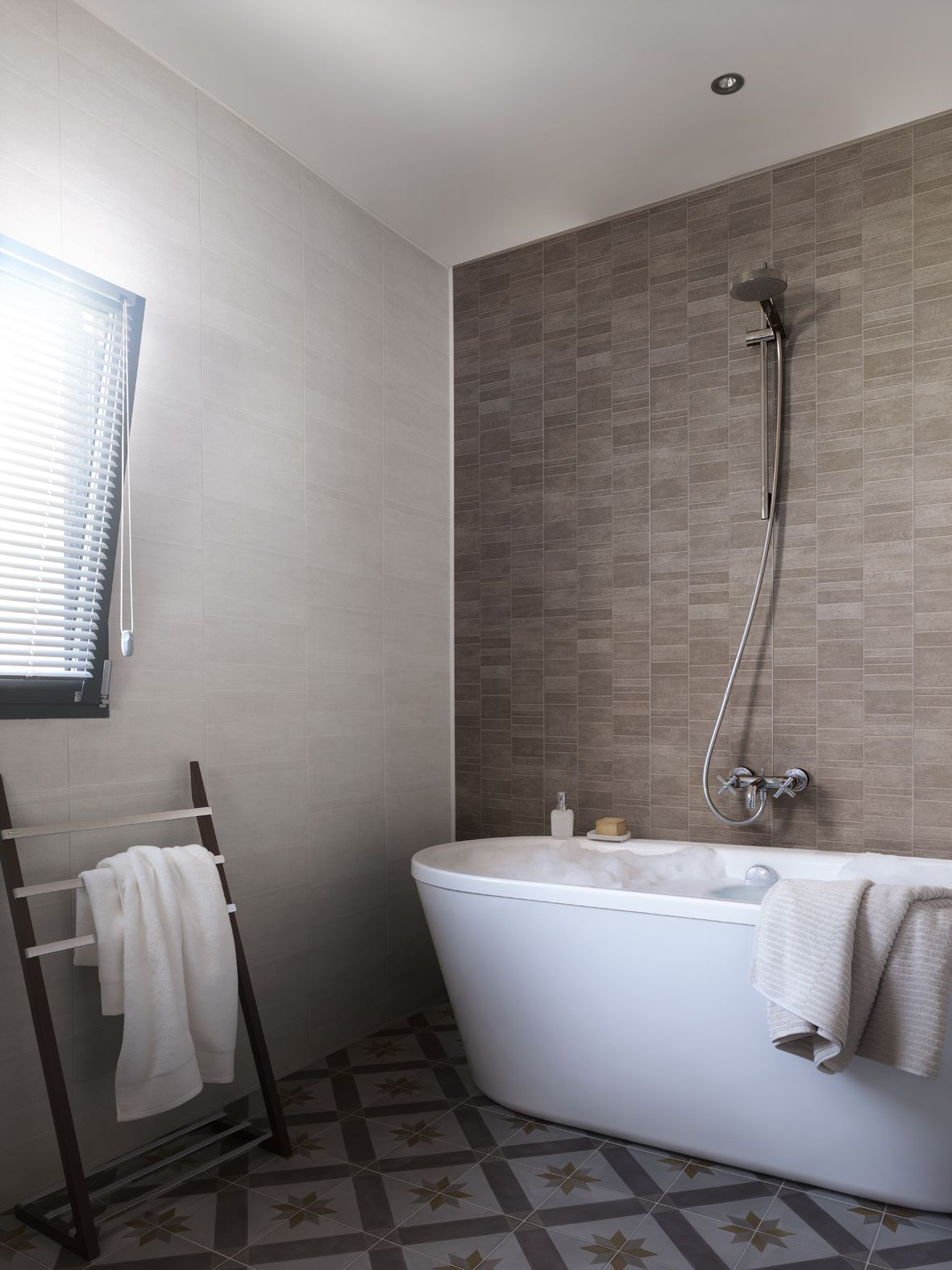 Pvc Wall Panelling An Easy Clean Waterproof And Low Maintenance Solution For Bathrooms A Great Stylish Alternative To Traditi Sharyn S Projects Bathroom Wall Panels Bathroom Wall Coverings Bathroom Cladding