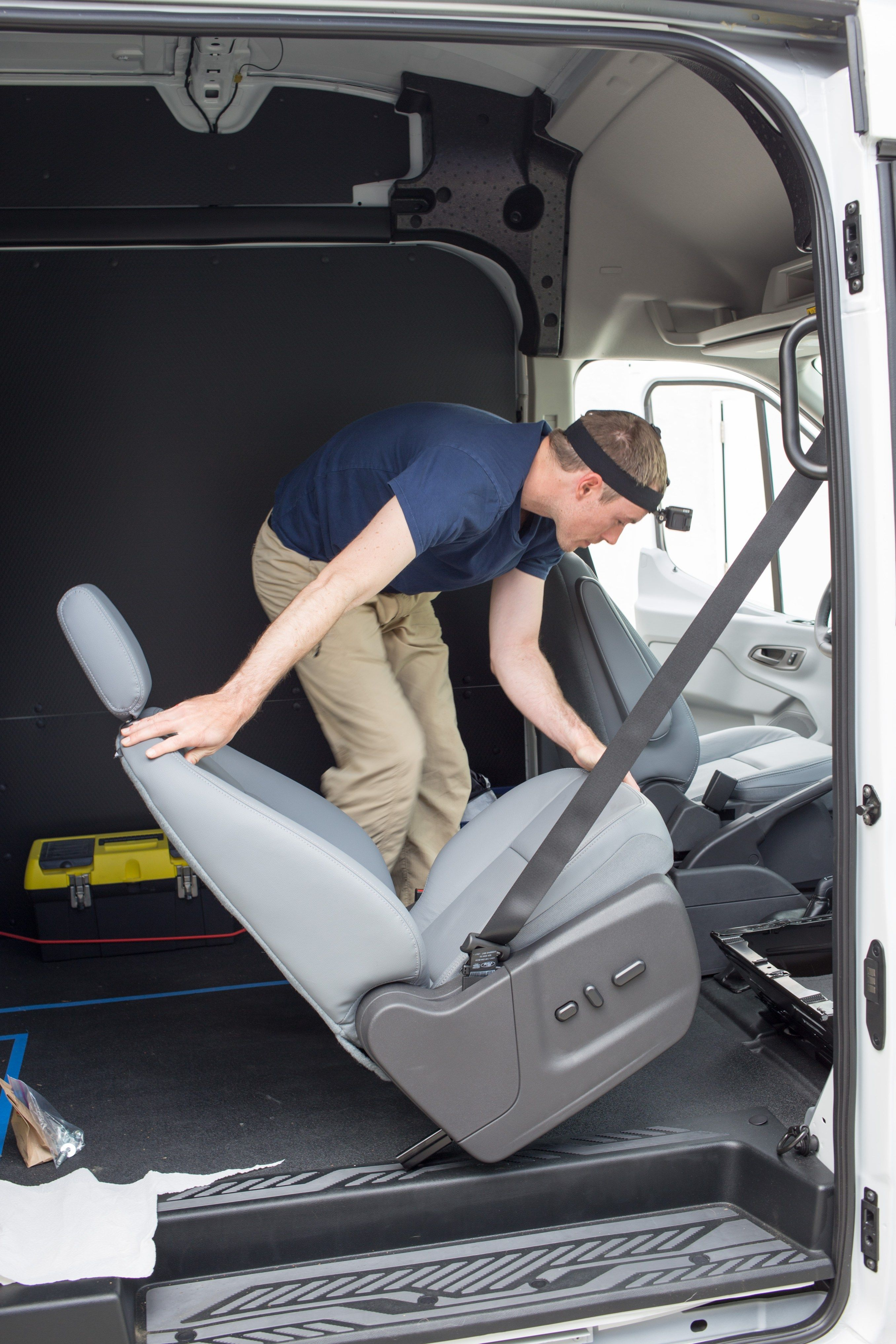 How To Install A Swivel Seat Adapter Swivel Seating Ford Transit Camper Furniture