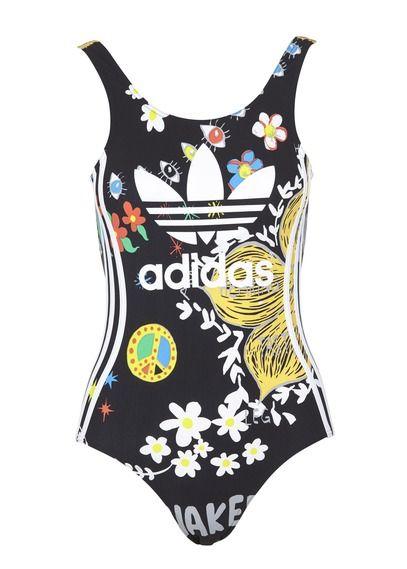 9df5498d48 E-shop Adidas - Maillot De Bain 1 Pièce Imprimé Noir Adidas pour femme sur  Place des tendances Groupe Printemps. Retrouvez toute la collection Adidas  pour ...