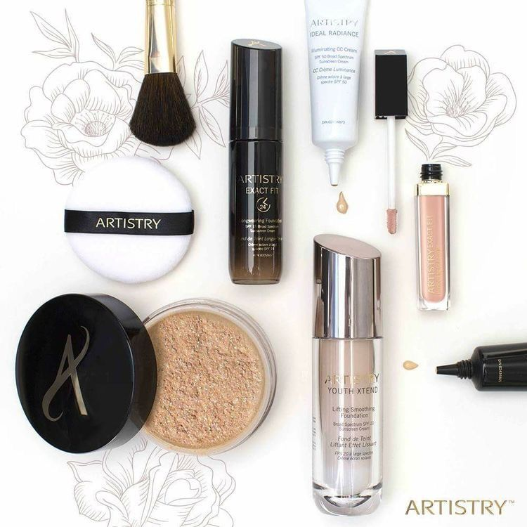 Pin By Liz On Artistry With Images Artistry Makeup Powder