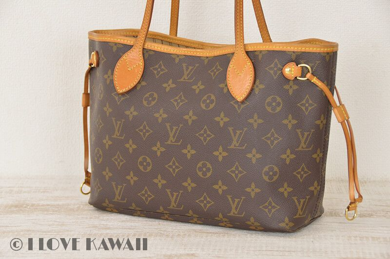 Louis Vuitton Monogram Neverfull PM Tote Shoulder Bag M40155