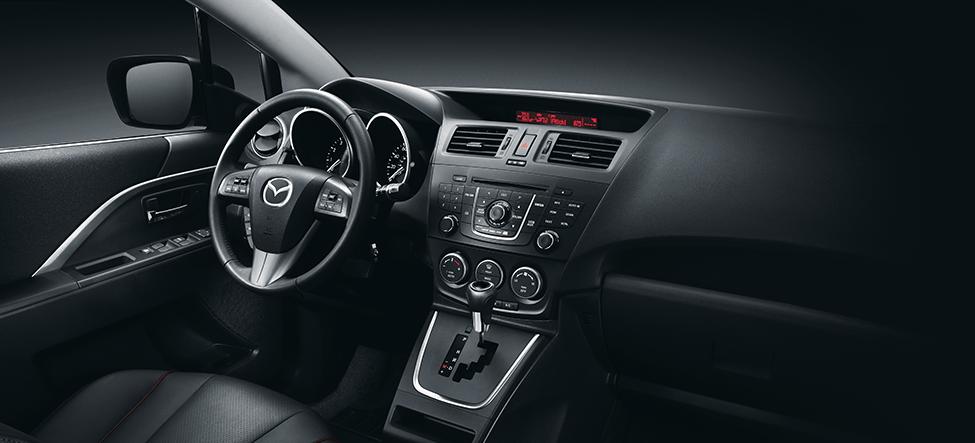 2017 Mazda 5 Minivan Dashboard