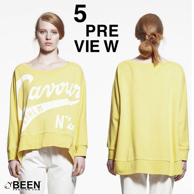 Se nel tuo armadio c'è almeno una maglia oversize allora sei una fashion old school: questo modello è per te! #5PREVIEW http://www.beenfashion.com/it/5preview-felpa-stampata.html?utm_source=pinterest.com&utm_medium=post&utm_content=5preview-felpa-stampata&utm_campaign=post-prodotto