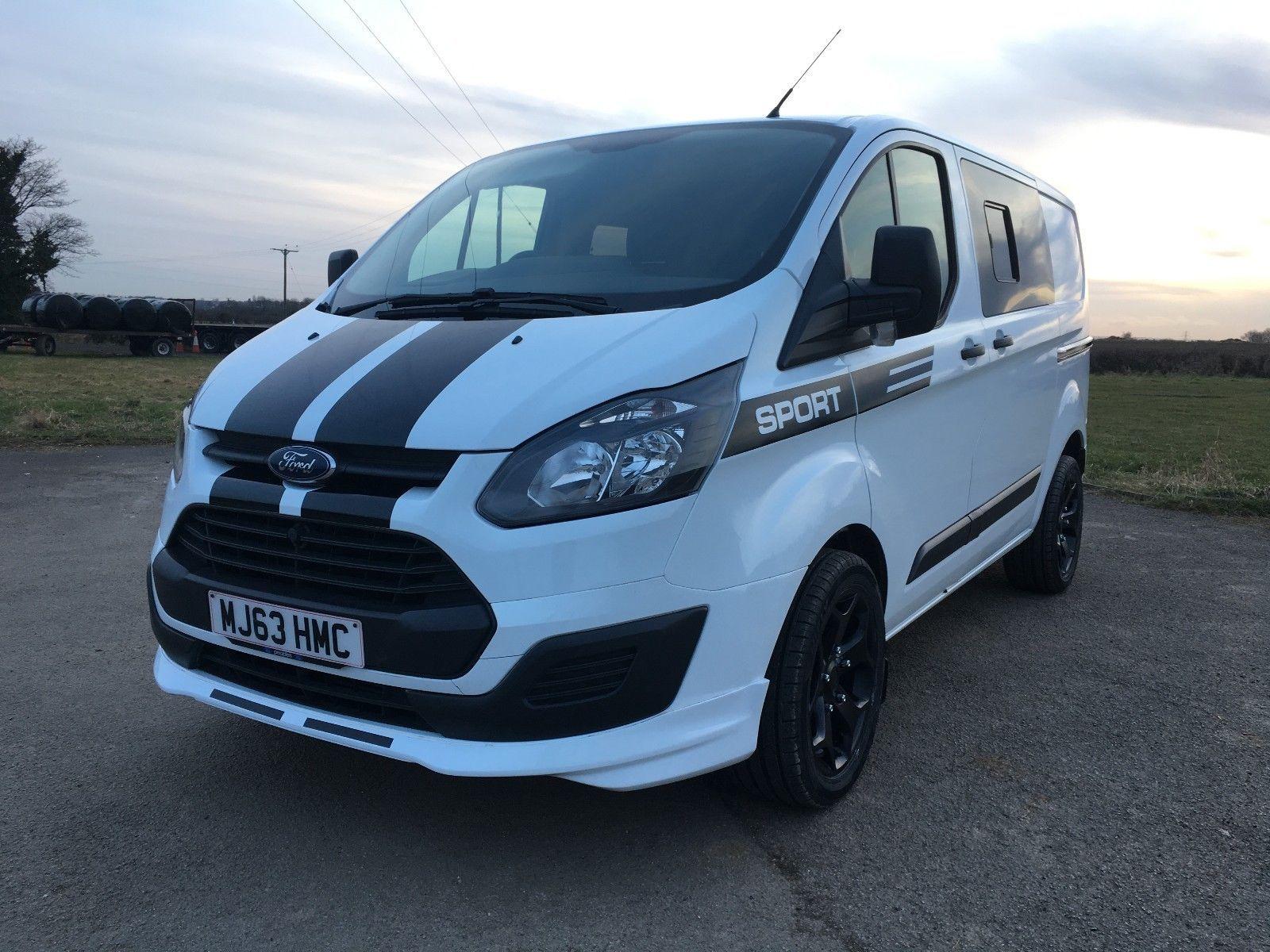 Ford Transit Custom Crew Double Cab 6 Seat Kombi No Vat Sport Kit