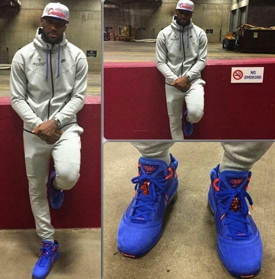 Celeb Sneaker Game  Lebron James Wearing Nike LeBron 7  HWC  Sneakers 78fcdb001