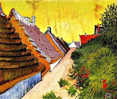 Vincent van Gogh, 'Street in Saintes-Maries', 1888