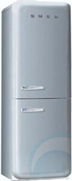 Smeg silver fridge