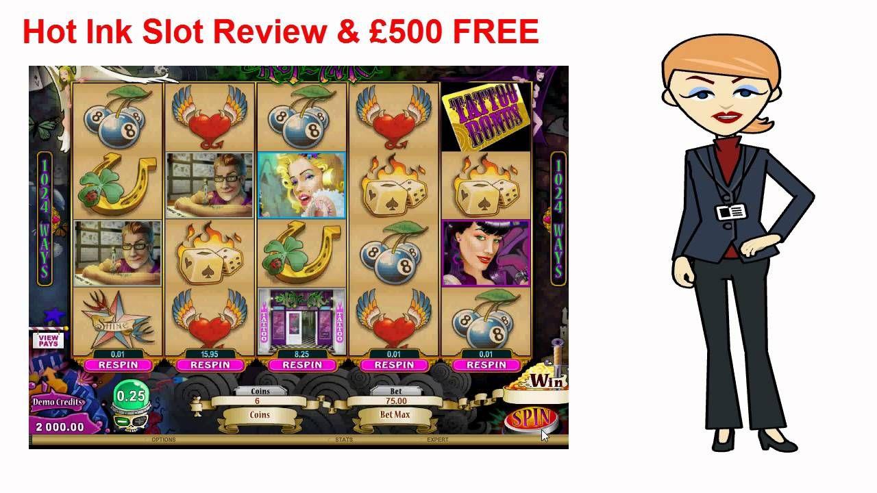Hot ink slot review 500 free jackpot city casino playlist