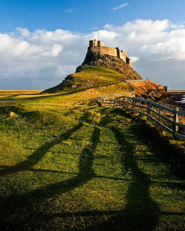 Places To Visit North East Coast England: Lindisfarne, Northumberland, England (by Terry Cavner