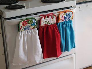 The Multi-Purpose Life: The Tea Towel Holder... 10 minutes to Sanity ...
