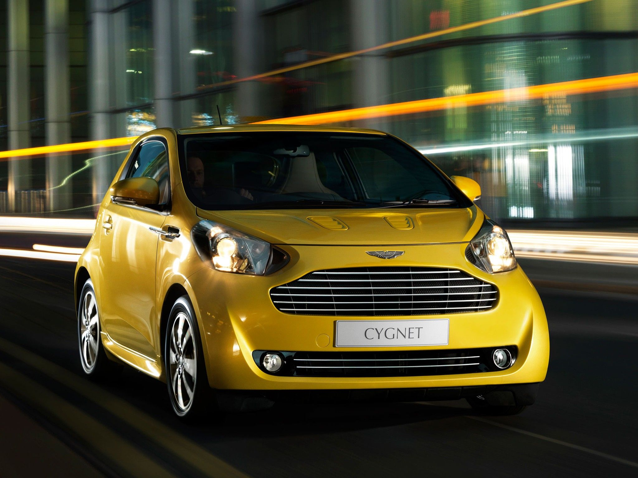 Photo: ASTON MARTIN CYGNET