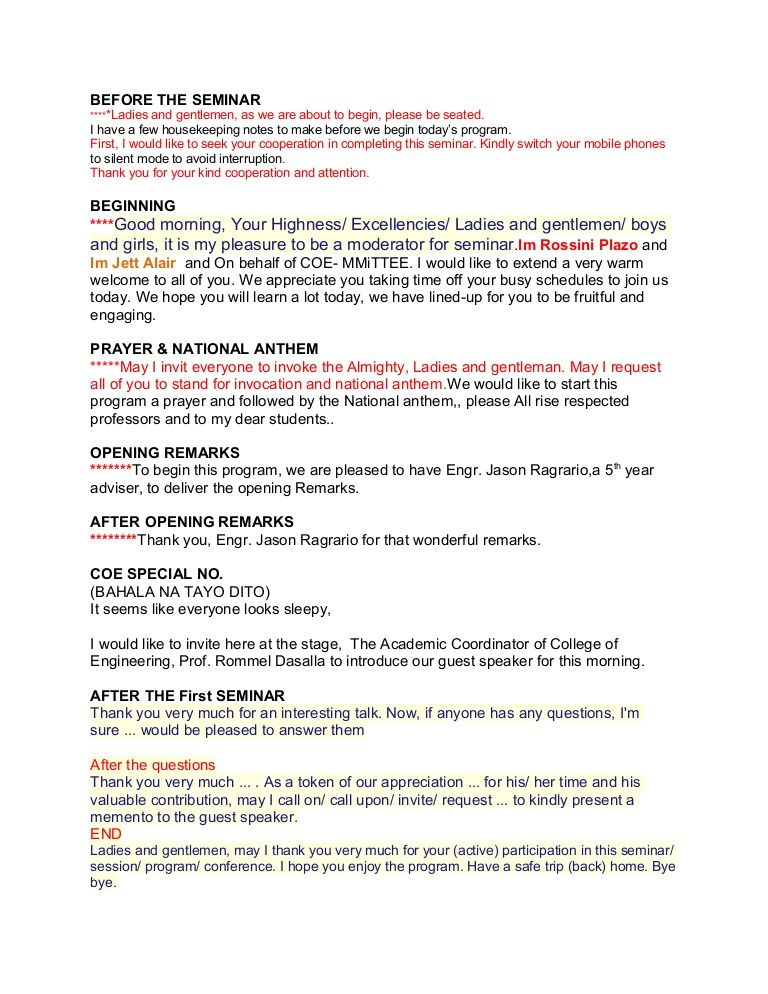 Emcee Script Empowerment Pinterest - figure of speech example template