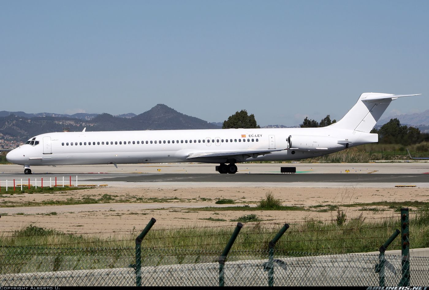 McDonnell Douglas MD83 (DC983) aircraft picture