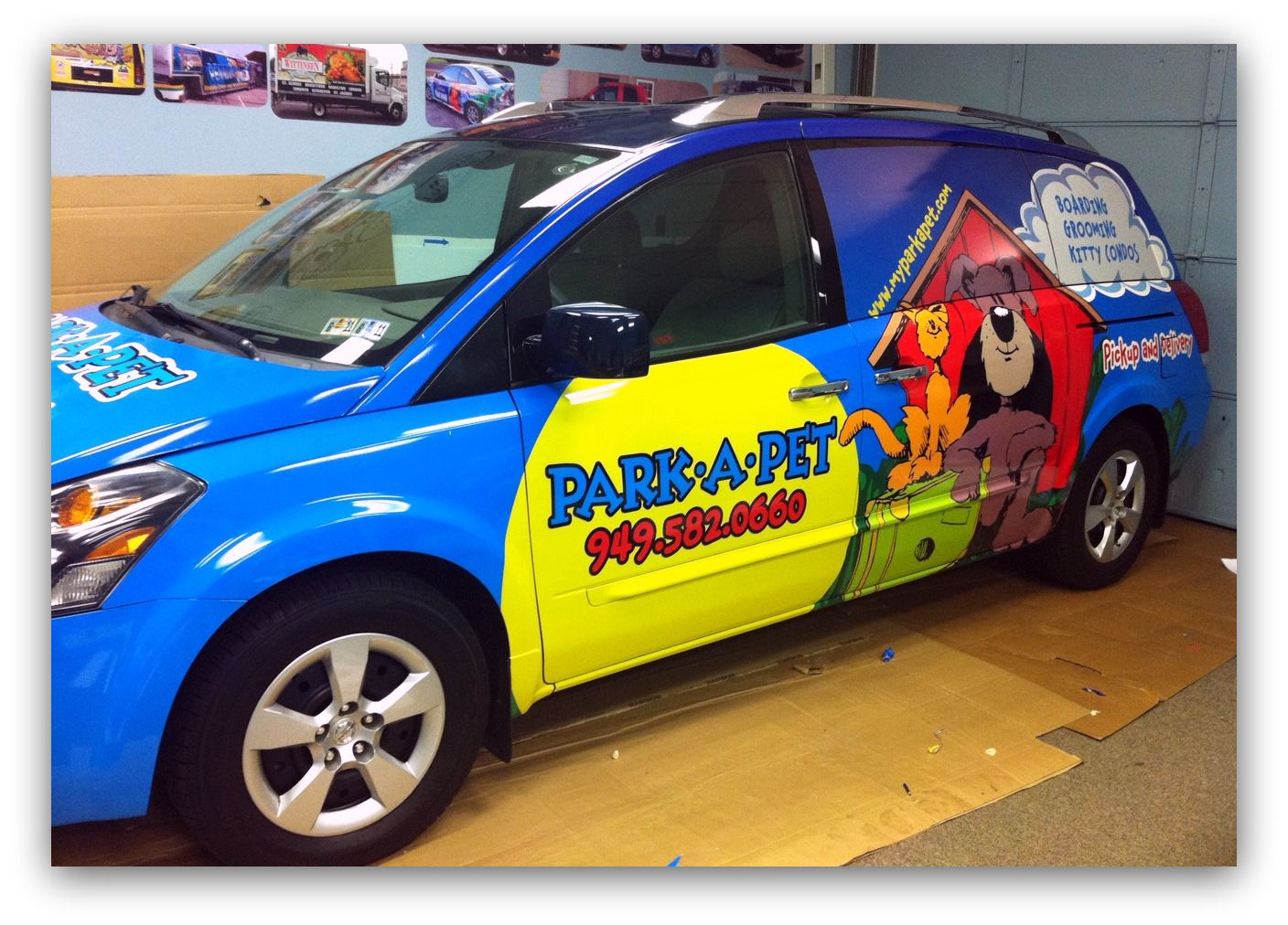 An Auto Wrap Trends That's Here To Stay Pet Care Vehicle
