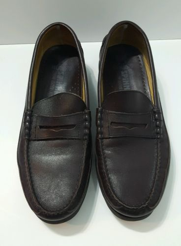 c29dcec2d2b Mephisto-Spinnaker-Mens-Penny-Loafer-Shoes-Size-10-5-Brown-Leather ...