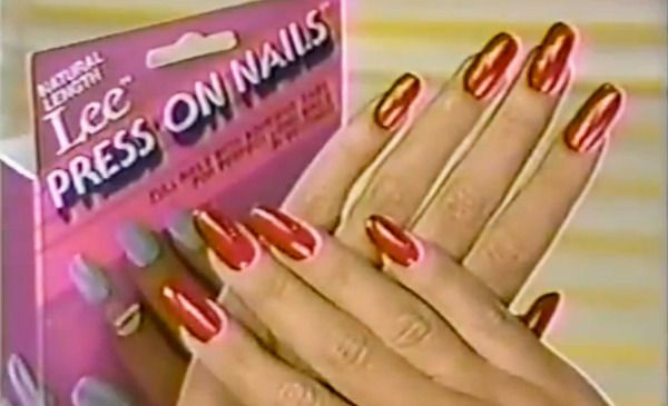 Are Lee Press On Nails Responsible For Your Nail Obsession Lee Press On Nails Press On Nails Airbrush Nails