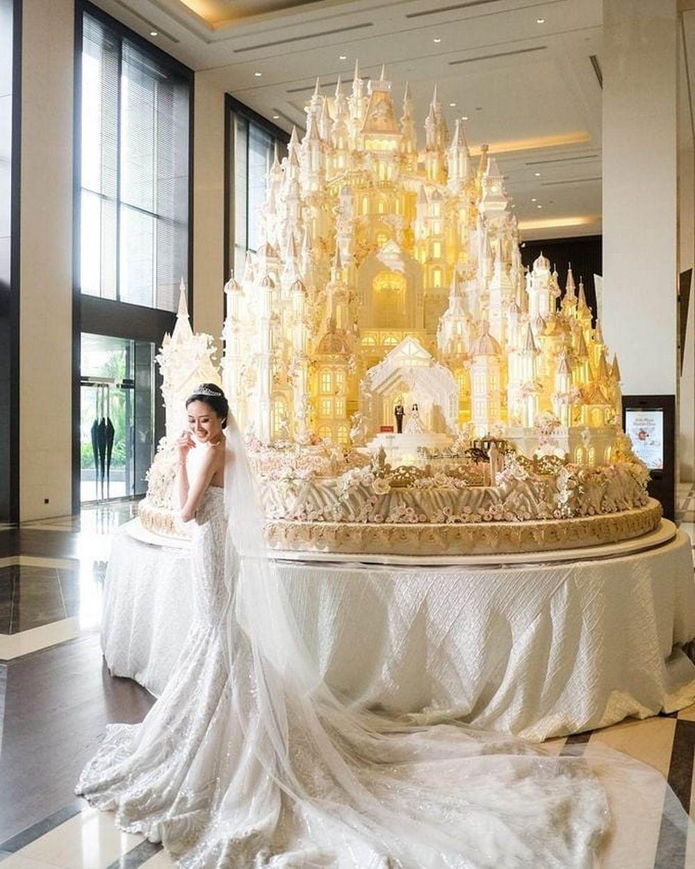 Photo of 15 köstliche und riesige Hochzeitstorten, die ein Vergnü …