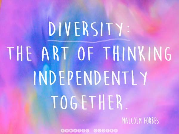 Embrace Diversity Picture Quotes Unity In Diversity Quotes