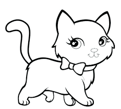 Image result for kitten coloring pages Cat coloring page