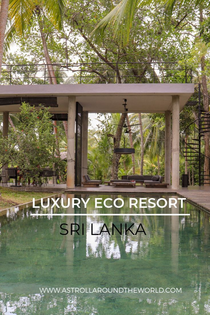 A luxury eco resort in Sri Lanka #srilanda #beautifulhotels #luxuryhotel #nature