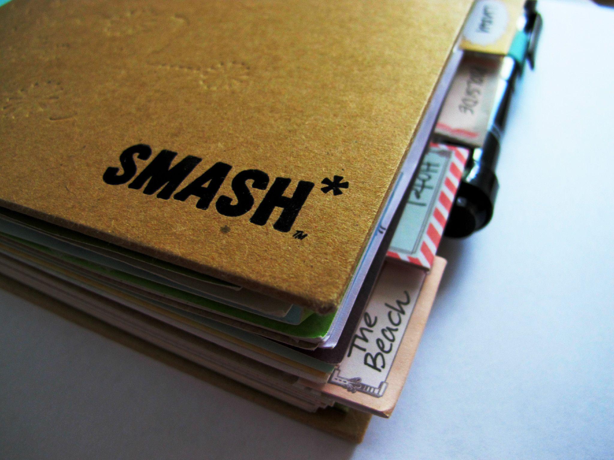 Smash Book another version of a Scrap Book | DIY Mayhem | Pinterest ...