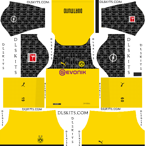 Borussia Dortmund 2019 2020 Dream League Soccer Kits Logo Borussia Dortmund Soccer Kits Dortmund