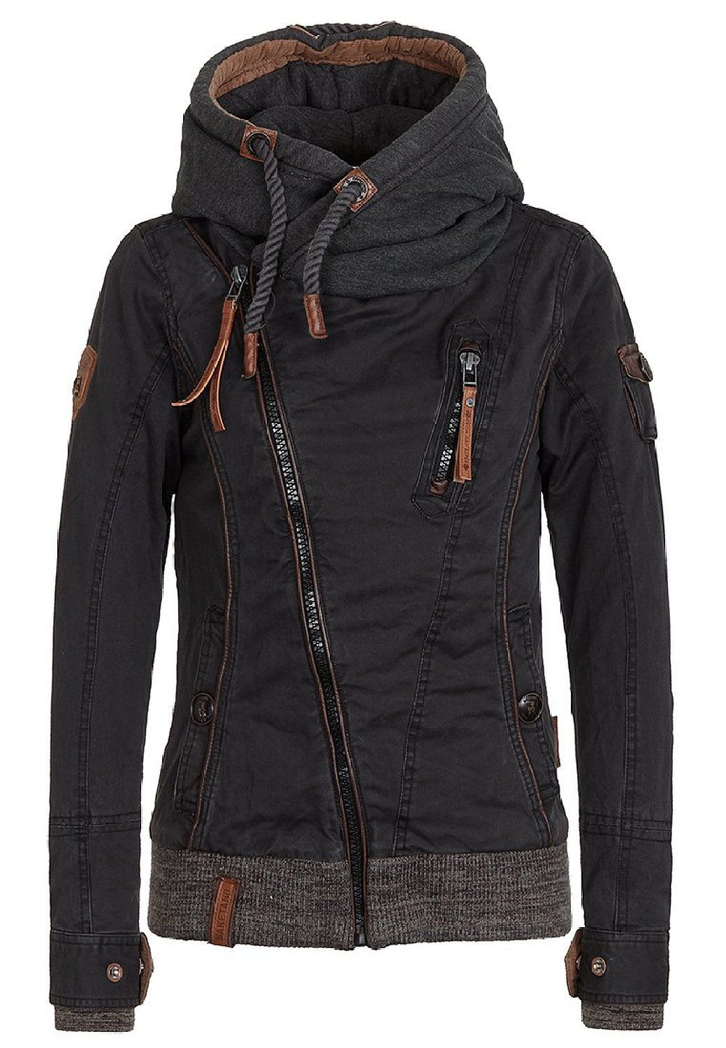 422b15ed08bc Naketano Walk The Line II Female Jacket Black, XS   My Style ...