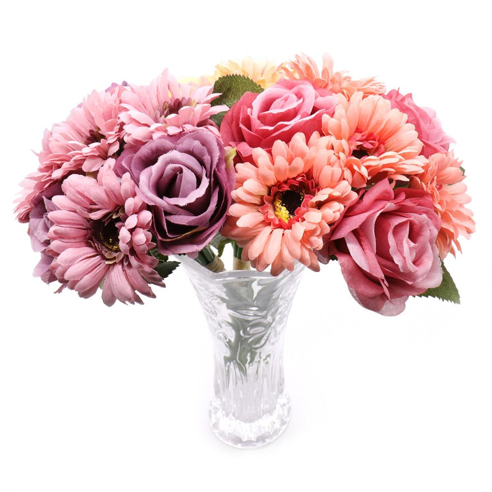 Cheap artificial flowers buy quality artificial flowers for wedding cheap artificial flowers buy quality artificial flowers for wedding directly from china flowers for suppliers 1 bunch 7 heads african daisy rose mixed izmirmasajfo Gallery