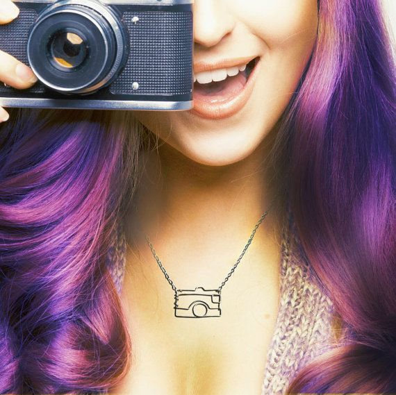 Camera Necklace - Gift for a Photographer - Photography Jewelry