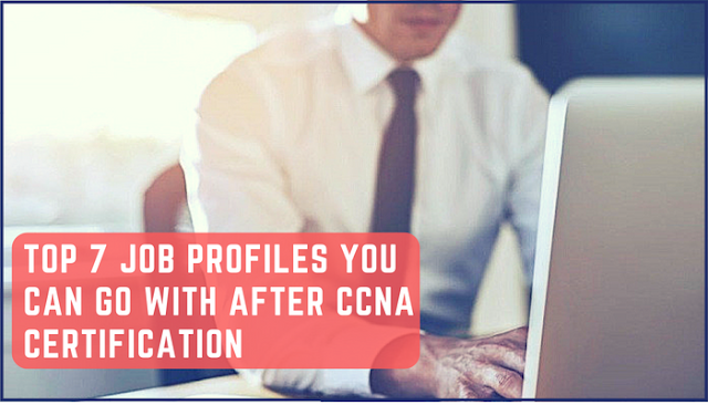 7 Job Profiles You Can Go With Ccna Certification Ccna Good Paying Jobs Change Management