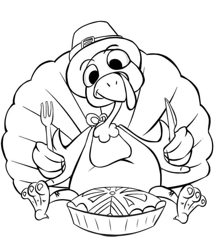 Crazy Turkey Coloring Pages from Printable Turkey Coloring ...