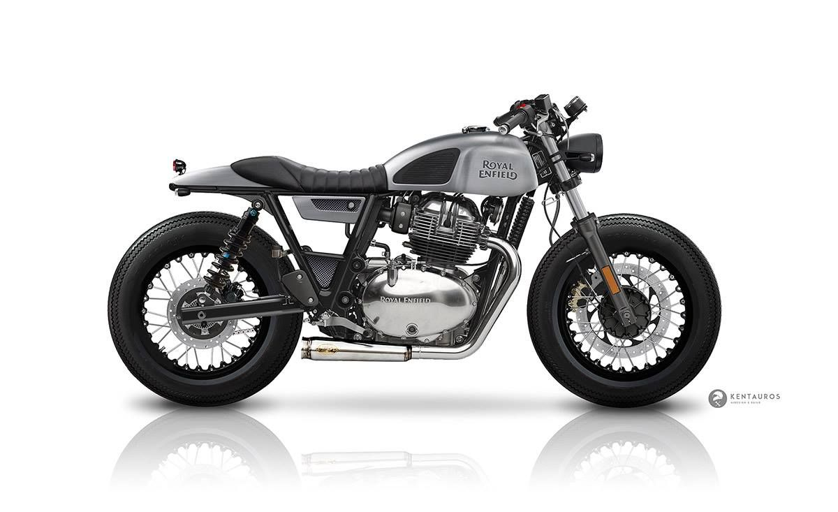 New Royal Enfield Continental Gt 650 By Kentauros Cafe Racer