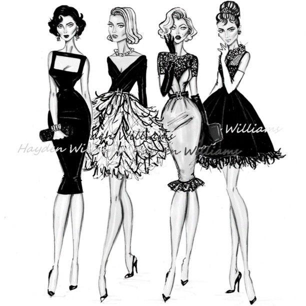 .@hayden_williams | Iconic Women collection by Hayden Williams: Liz, Grace, Marilyn & Audrey | Webstagram - the best Instagram viewer