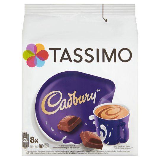 Tassimo Cadbury Chocolate 8 Pods 240g Chocolate Drinks Hot Chocolate Drinks Cadbury