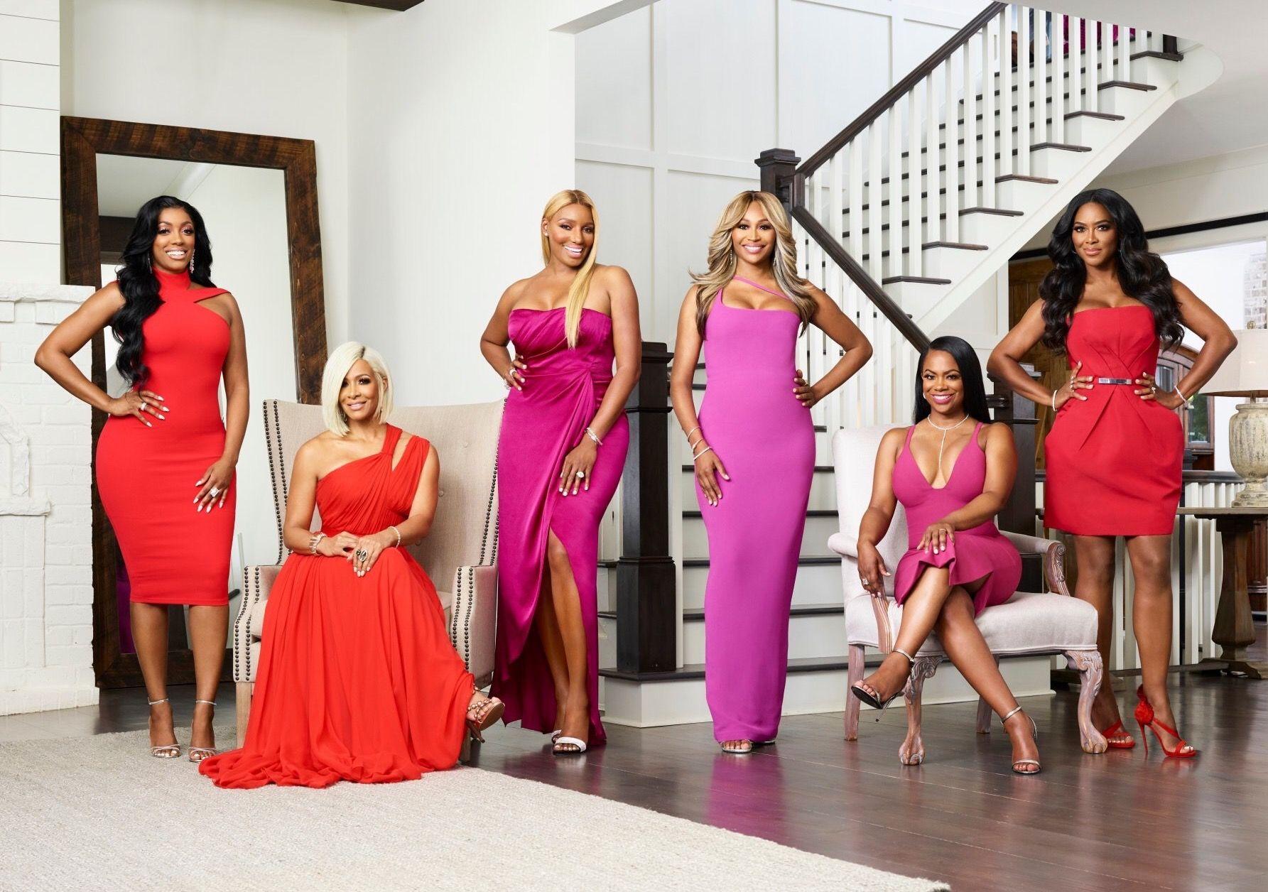Season 10 Cast with NeNe Leakes Housewives of atlanta