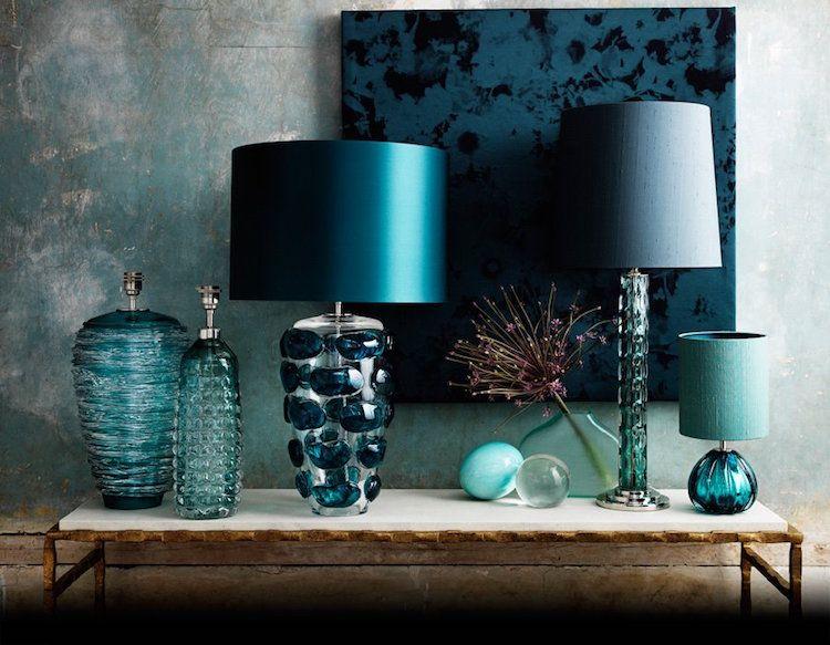 d co salon bleu p trole et bleu canard comment en tirer le meilleur parti salon bleu bleu. Black Bedroom Furniture Sets. Home Design Ideas