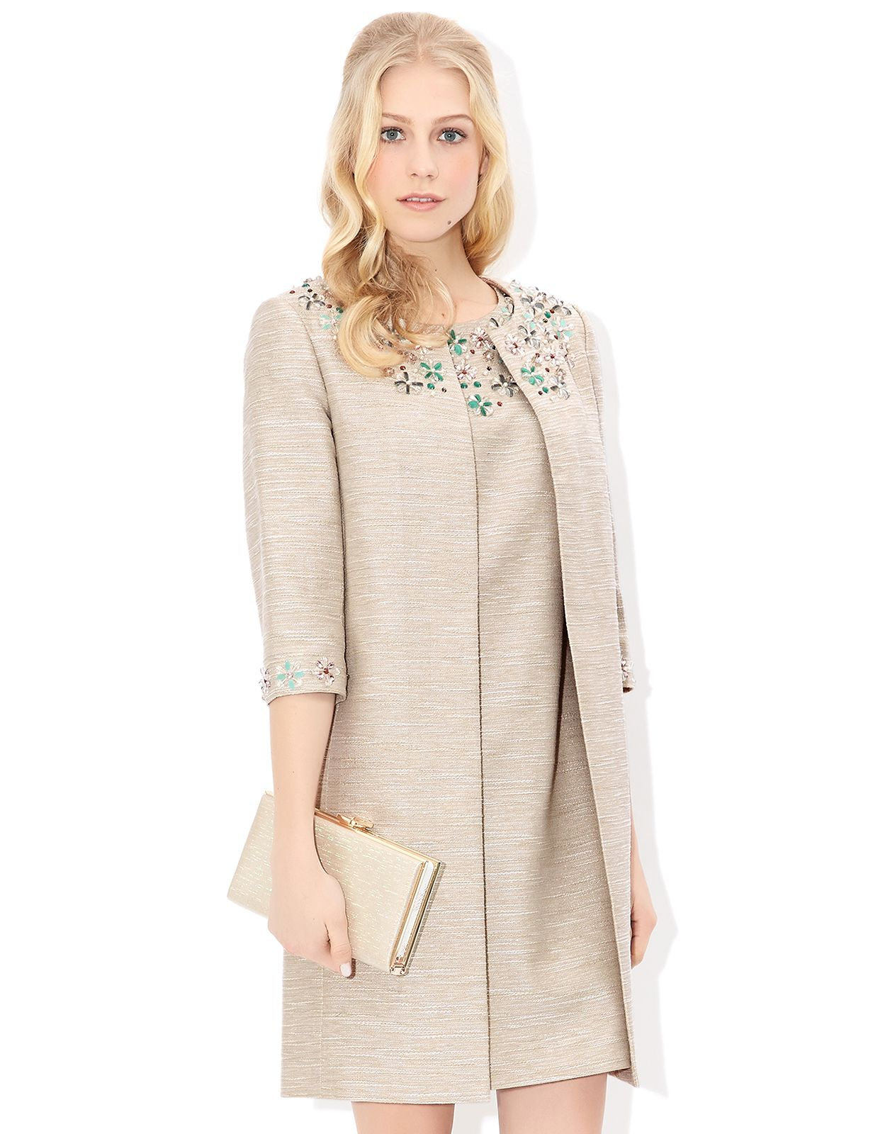 Milica Jacket | Ivory | Monsoon | mob | Pinterest | Cocktail ...