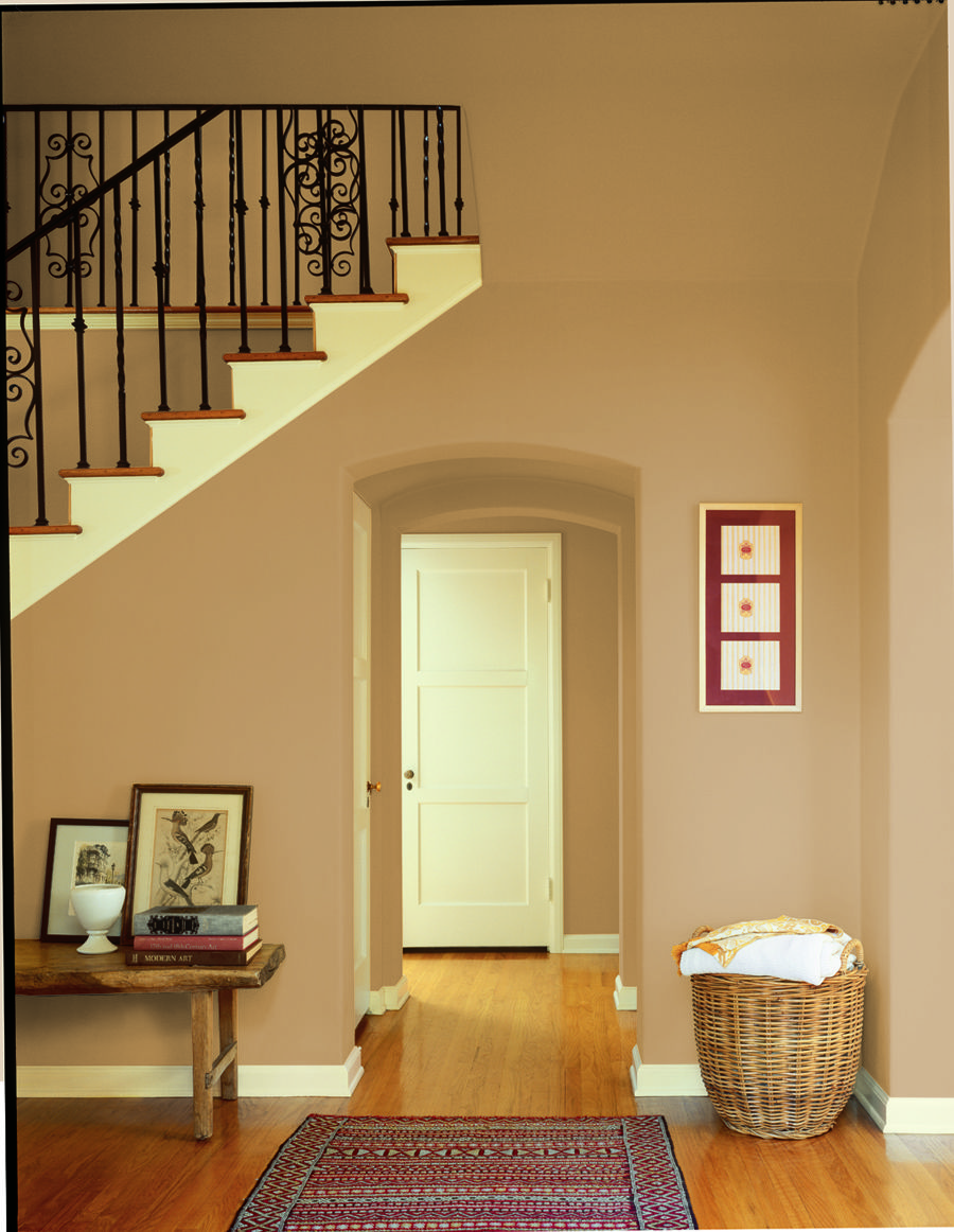 Dunn edwards paints paint colors wall warm butterscotch for Warm neutral paint colors