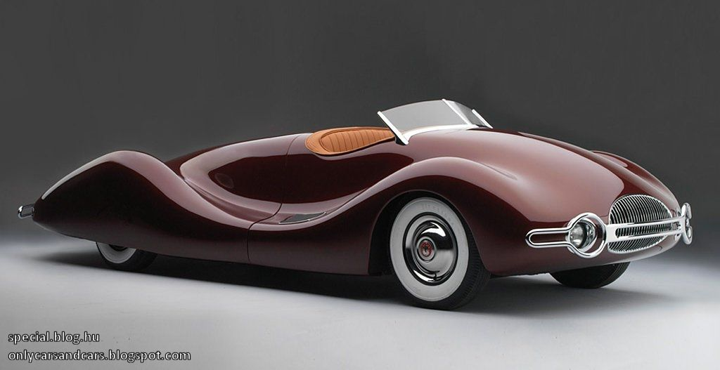 Special cars: Buick Streamliner by Norman Timbs
