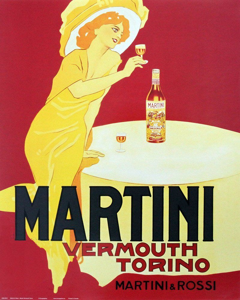 Italian Vermouth Red Vermouth Sweet Vermouth Affiches Anciennes Affiches Publicitaires Vintages Affiche Imprimee