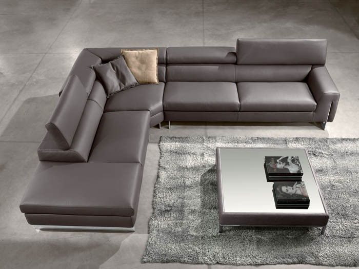 Bellevue Sofa Sectional Gamma International Italy Leather Couch Sectional Corner Sectional Sofa Contemporary Leather Sofa