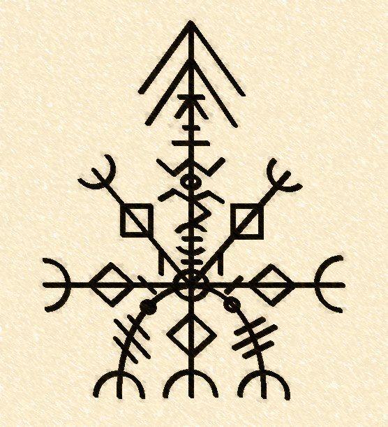 "The ""Eleventh Key"", Valdr Runes: ""This circle of Runes Turisaz on"