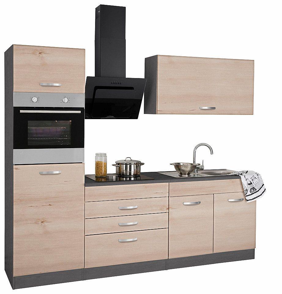 Held Möbel Küchenzeile ohne E-Geräte »York«, Breite 240 cm Jetzt ...