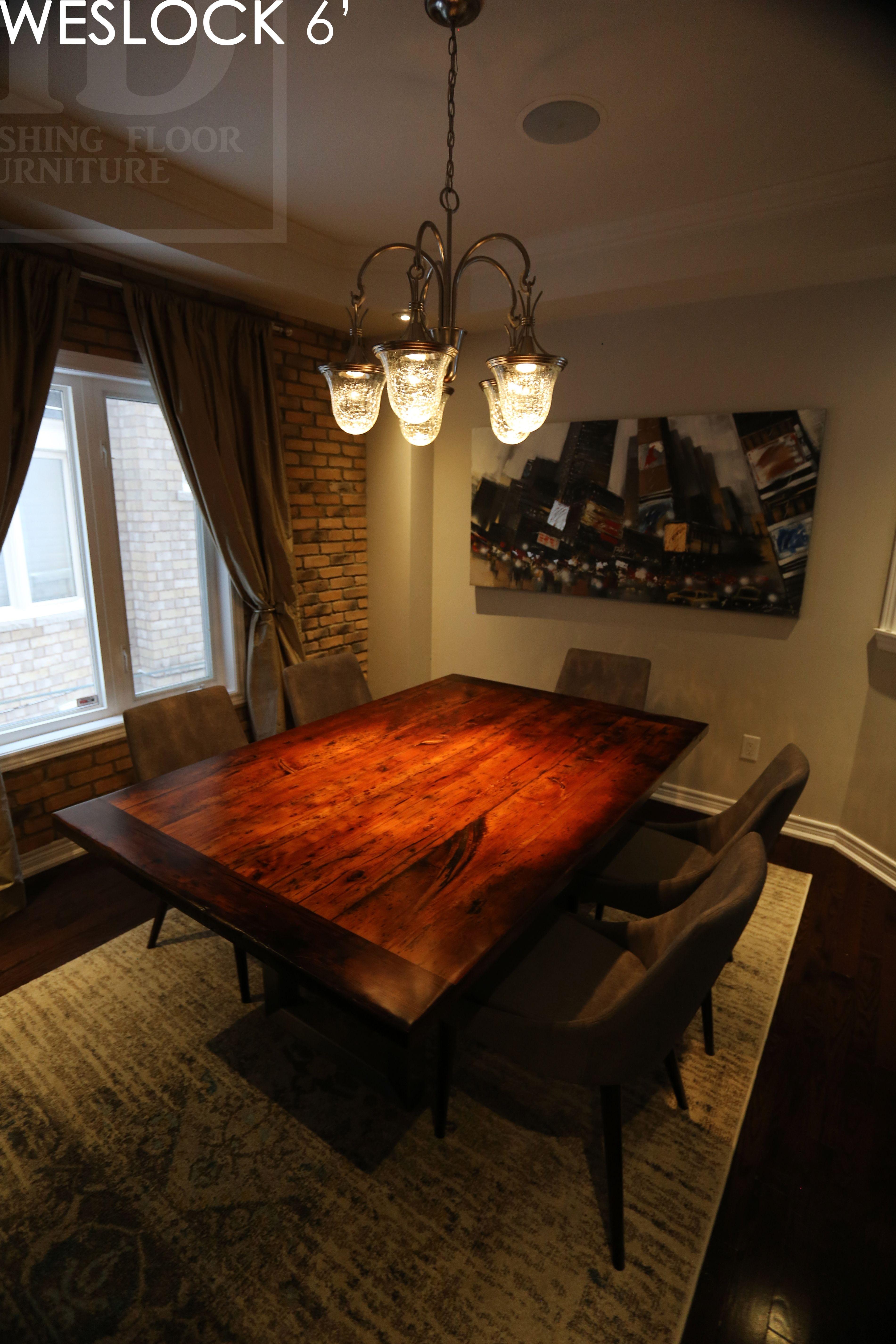 Reclaimed Wood Harvest Table By Hd Threshing Floor Furniture Of