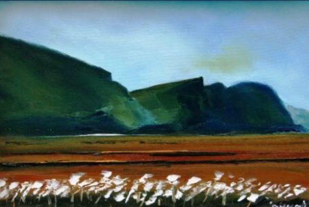 """""""Minaun Cliffs in Spring"""" Padraig McCaul"""