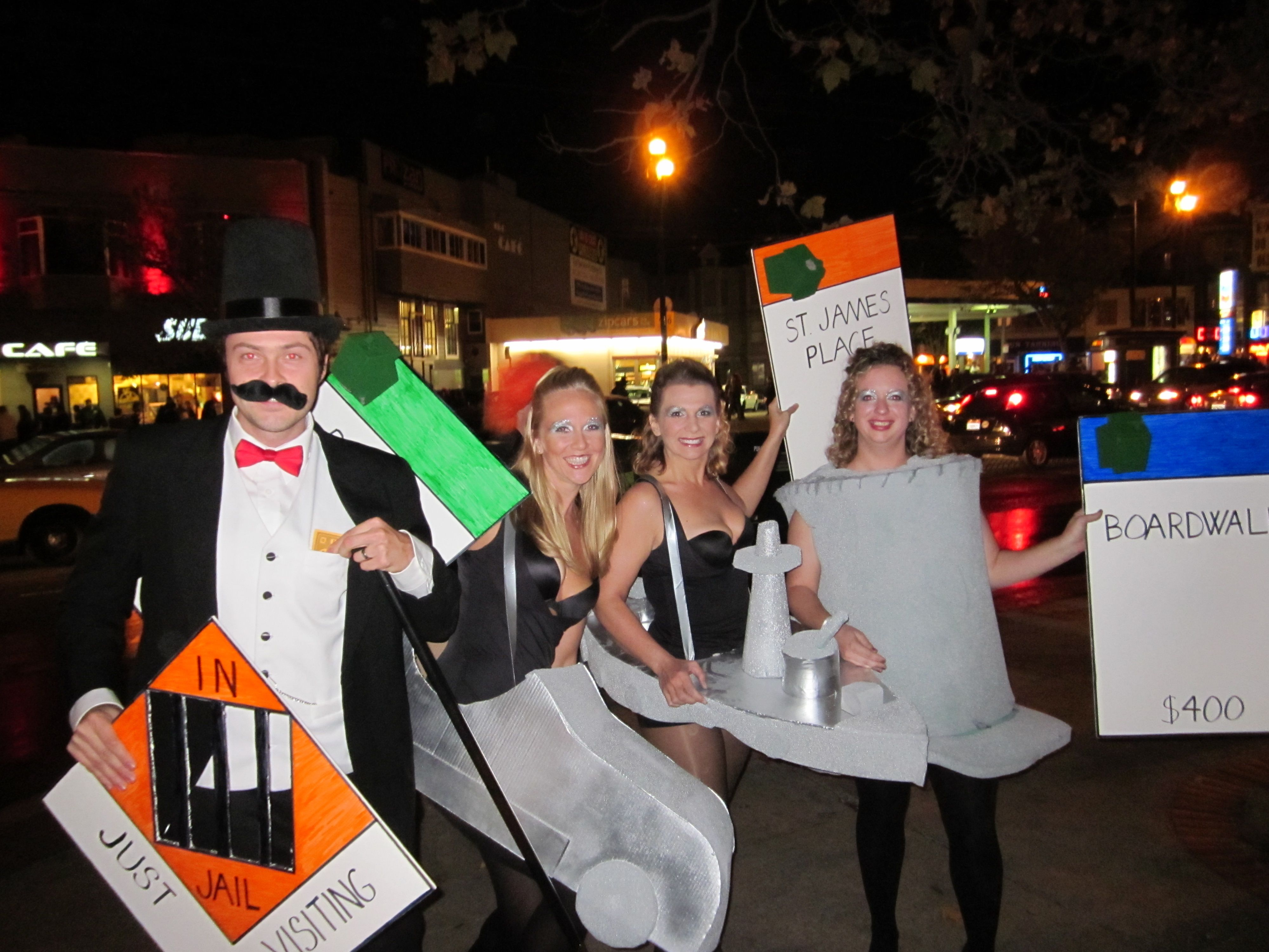Group halloween monopoly costume | Fall | Pinterest | Group ...