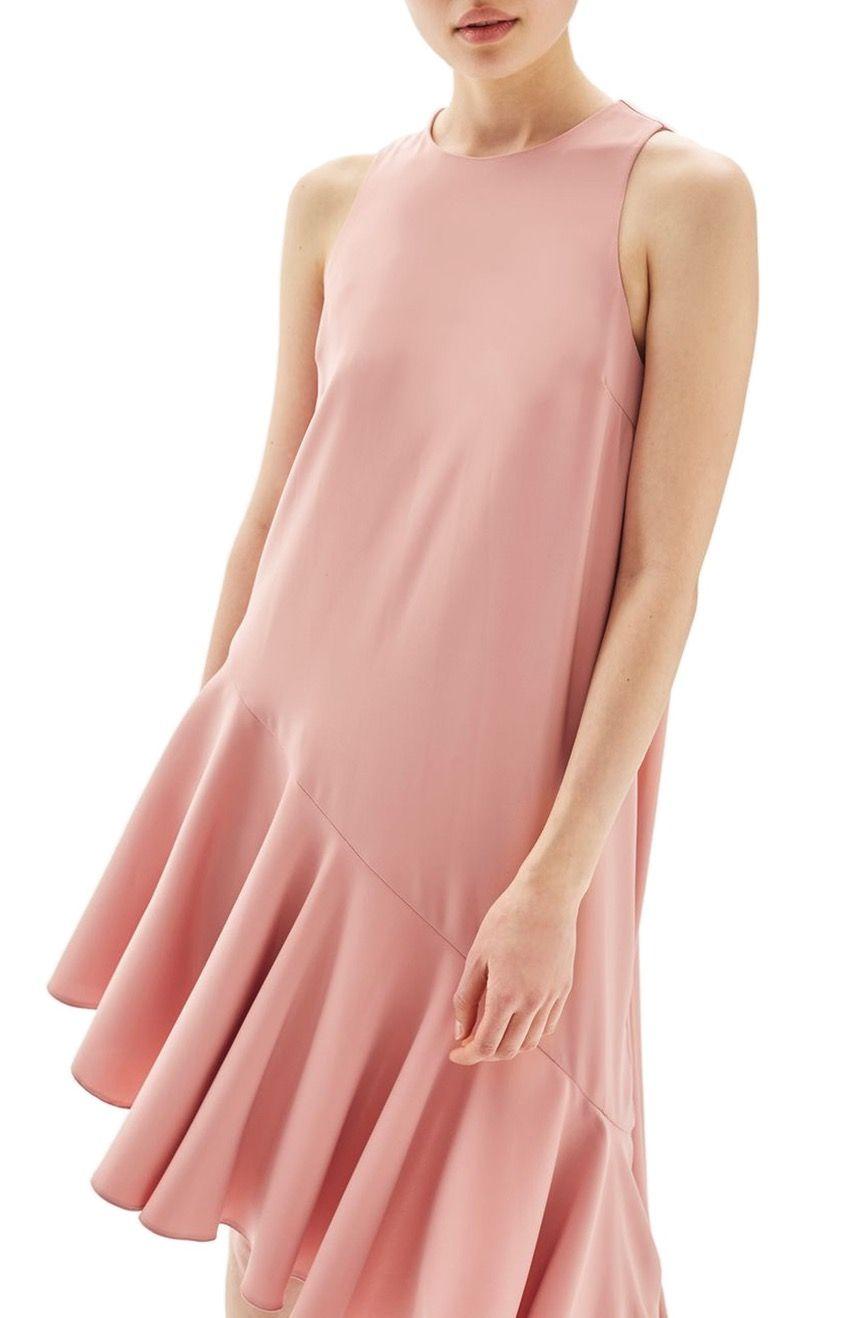 Ruffle Asymmetrical Midi Dress TOPSHOP THB 3,700.84 Price varies ...