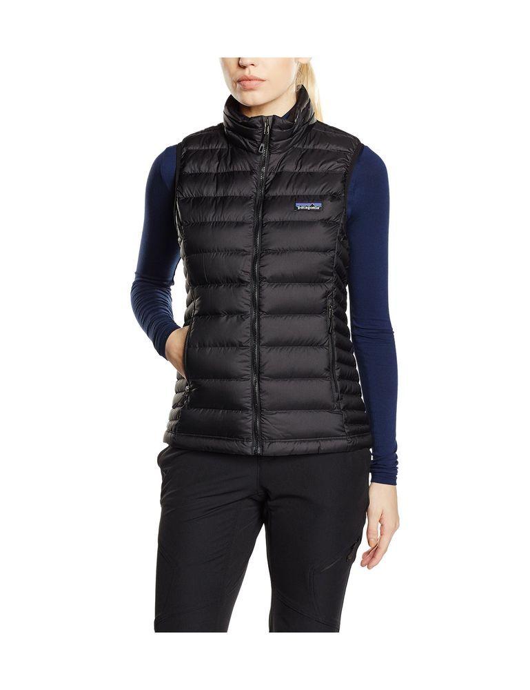 3866d773360897 Patagonia Women's Down Sweater Black L 692756787320 | eBay ...